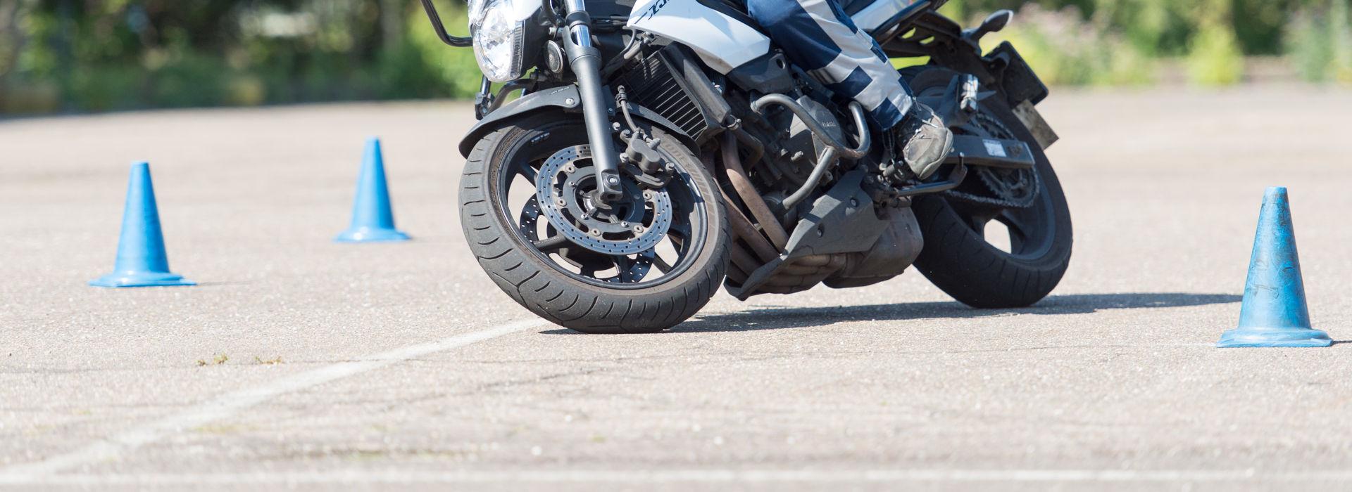 Motorrijbewijspoint Hoogvliet rijtest